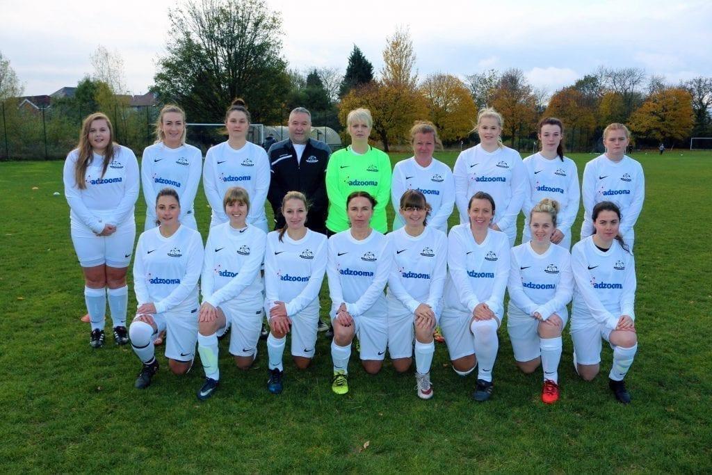 A team photo of the Carlton All Whites.