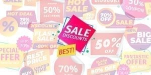 Image showing discounts to be the better of the two