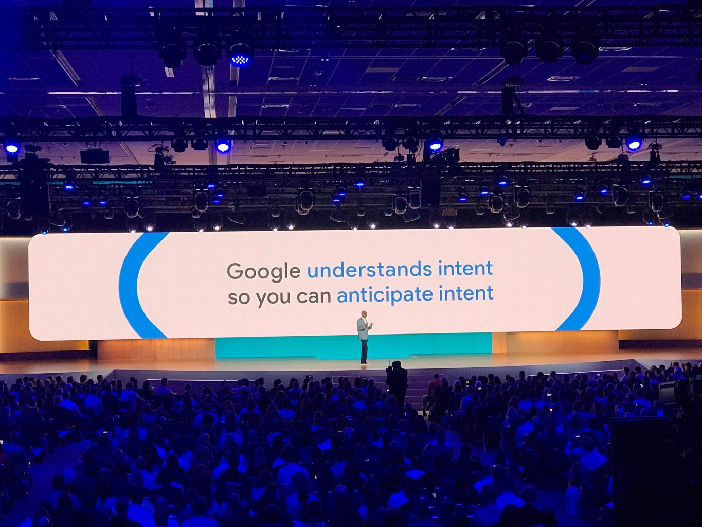 Speaker at Google Marketing Live 2019