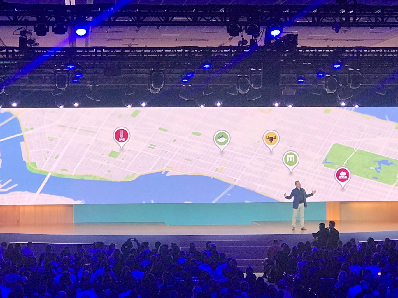 Another speaker at Google Marketing Live 2019