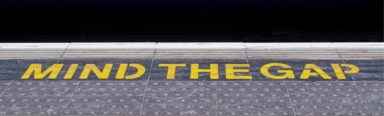 Find the gap but mind the gap - from a content perspective