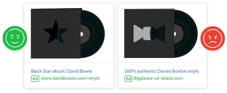 Image of David Bowie Vinyl and 100% authentic Davies Bowtie vinyls