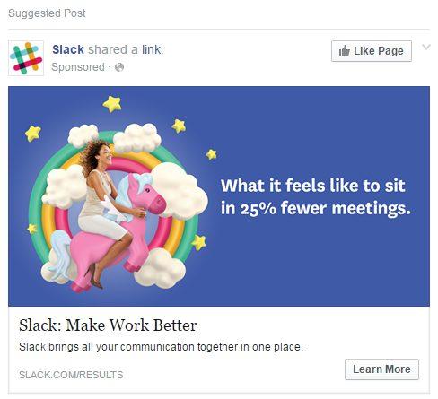 Slack ad