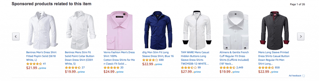 Amazon ads