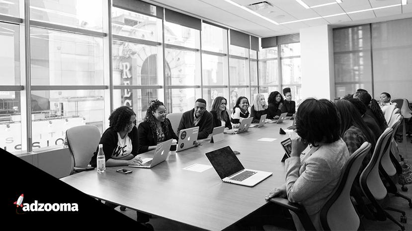 Women in tech in a meeting