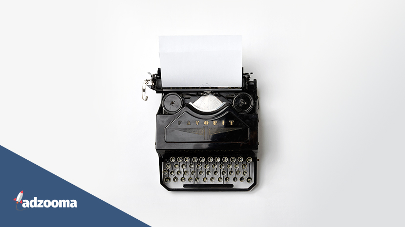 A typewriter on a white background