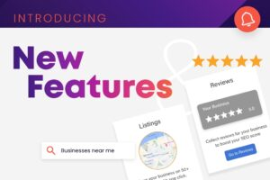 New Feature, Image of reviews and listings